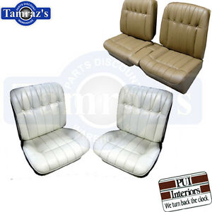 1965 Riviera Front Rear Seat Covers Upholstery Pui New