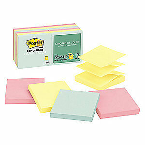 Post it Pop up Sticky Notes 3x3 marseille pk12 R330 12ap Marseille
