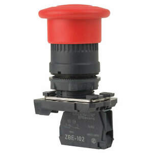 Schneider Electric Emergency Stop Push Button plastic red Xb5at842 Red