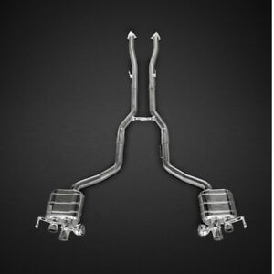 Capristo Bentley Continental Gt V8 S Valved Exhaust System No Remote