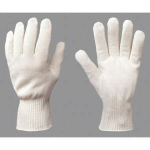 Turtlesk Polyester cotton Heat Resistant Gloves xs gauntlet pr Cph 36a Natural