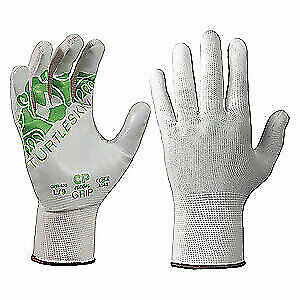 Turtleskin Cut Resistant Gloves wht pu l pr Cpn 430 White