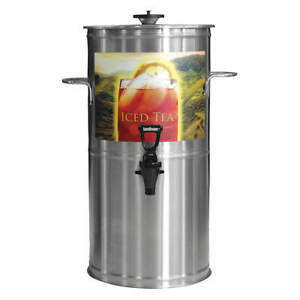 Newco Coffee Stainless Steel Tea Dispenser 3 Gallon Tb3 Stainless Steel