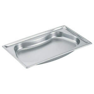 Vollrath Stainless Steel Steam Table Pans Full Kidney 3101120