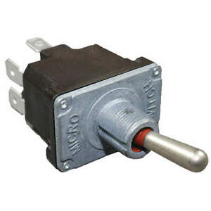 Toggle Switch dpdt 10a 277v quikconnct 2nt91 5