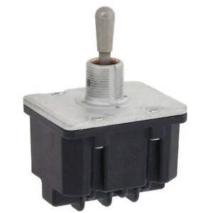 Honeywell Toggle Switch 4pdt 10a 277v screw 4tl1 72