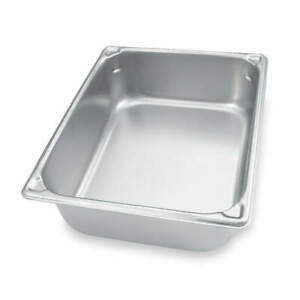 Vollrath Stainless Steel Pan two thirds Size 9 1 3 Qt 30142