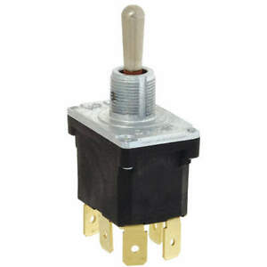 Honeywell 32nt91 7 Toggle Switch dpdt 10a 277v quikconnct