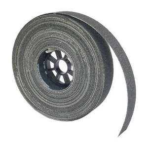 Norton Abrasive Roll 1 1 2 wx75 Ft L 180g mesh 66261107265 Black
