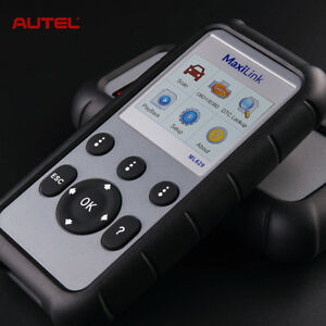Autel Ml629 Auto Diagnostic Tool Code Reader Obd2 Scanner Abs Srs Transmission