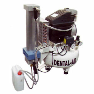 Silentaire Da 1 50 379 Dental Air Compressor With Dryer And Cabinet