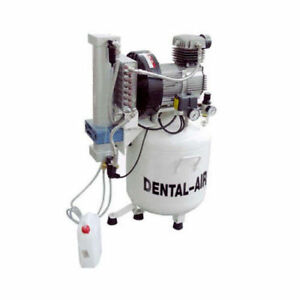 Silentaire Da 2 50 379 Dental Air Compressor With Dryer And Cabinet