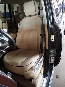 07 08 09 10 11 12 Range Rover Hse Left Front Driver Seat Assembly Tan Black
