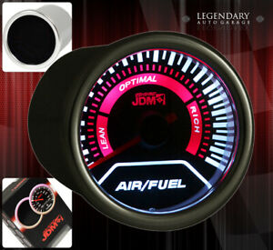 Universal Jdm Display Indicator 52mm Air fuel Gauge Lean Rich Autometer Smoke