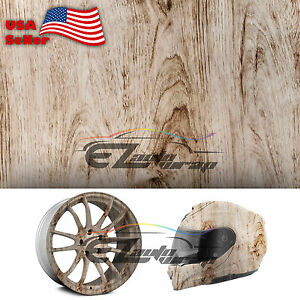 19 x38 Hydrographic Film Hydro Dipping Dip Water Transfer Wood Grain Print 04