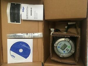 Draeger 4544161 Drager Polytron 5200 Gas Detection System New In Original Box
