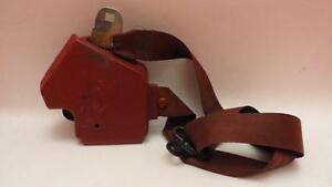84 85 Corvette Carmine Red Right Seat Belt Free Shipping C40044