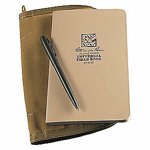 Rite In The Rain Notebook Kit 64 Sheets tan Cover 32lb 974t kit