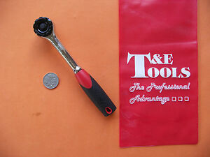 New Gearless Ratchet 3 8 dr X 195mm 7 3 4 W Zero Index Movement T e Tools