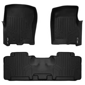 Maxliner 2011 2017 Lincoln Navigator Ford Expedition Floor Mats 2 Row Set Black