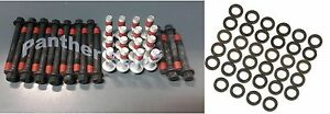 Chevy 265 283 302 5 0 305 5 7 350 400 Cylinder Head Bolts Washers Set