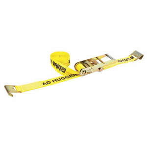 Lift all Tie Down Strap ratchet poly 30 Ft 20483 Yellow