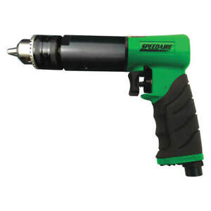 Speedaire Light Duty Keyed Air Drill pistol 1 2 48ma03