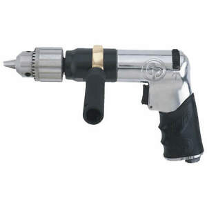 Chicago Pneumatic Air Drill industrial pistol 1 2 In Cp789hr