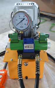 Hot Electric Driven Hydraulic Pump Dbd750 ds2 10000 Psi double Electric Valve