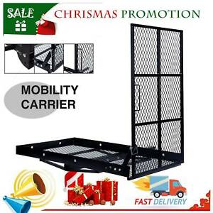 Wheelchair Carrier Mobility Scooter Trailer Hitch Cargo Carrier W Loading Ramp