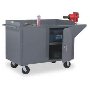 Mobile Cabinet Bench steel 66 W 24 D 3400 95