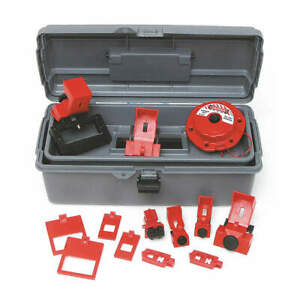 Portable Lockout Kit gray electrical 14 99305