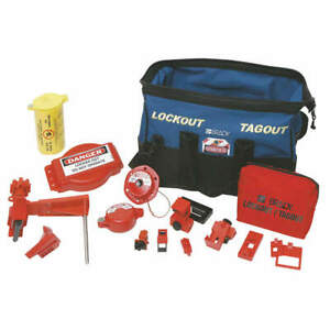 Portable Lockout Kit electrical valve 18 99689