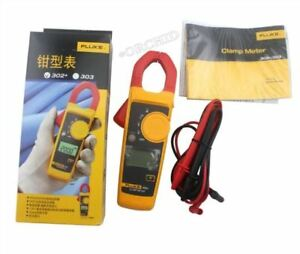 Fluke 302 With Coft Case Kch17 Handheld Digital Clamp Meter Multimeter Teste Li