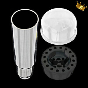 Chrome Small Block Chevy Oil Filler Tube And Breather Fits 283 327 Sbc Engines