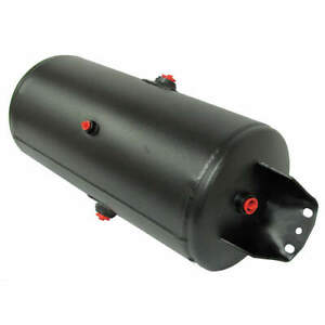 Velvac Steel Air Tank black Powder Coat 125 Psi 035104