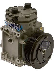 New York A C Compressor W Pv8 Double Wire Clutch York Et210l