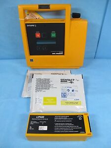 Physio Control Biphasic Lifepak 500 With Case New Battery New Pads And Warranty