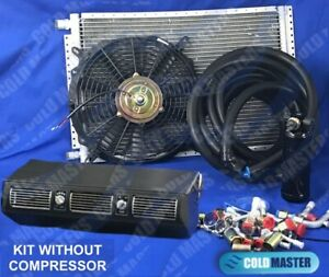 A C Kit Universal Under Dash Evaporator 450 Hd Air Conditioner No Compressor