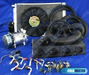 New A C Kit Universal Under Dash Evaporator Kit Air Conditioner 12v 450a 000fb