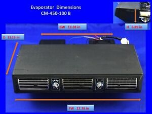 Universal Under Dash Ac Evaporator Underdash A C Heavy Duty 12 Volts 450b 100