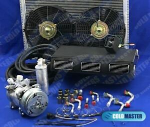 A C Kit Universal Under Dash Evaporator 450 Kit Air Conditioner 450 100 A 12v 5b