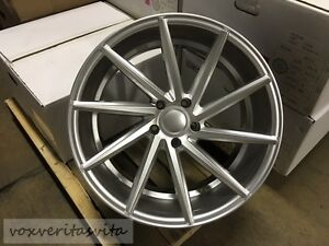 Brand New Set Of 4 Wheels 20 Rims Swirl Style Silver Fits Bmw E92 E93 E90 M3