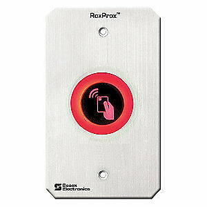 Essex Stainless Steel Proximity Reader Rfid Ss Prx 2r Gray