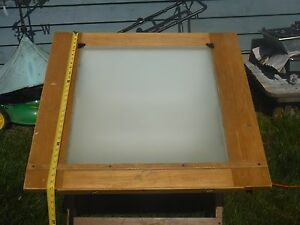 Vintage Lighted Drafting Table