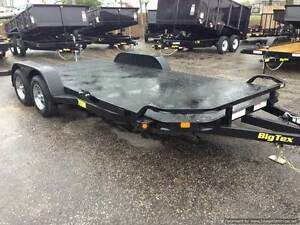 2018 Big Tex 18 Full Steel Deck Ultimate Car Hauler 919 661 1045