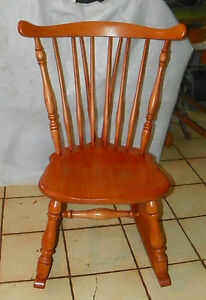 Maple Sewing Rocker Nursing Rocking Chair By Heywood Wakefield R235
