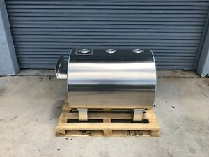Fuel Storage Tank Aluminum 110 Gallon