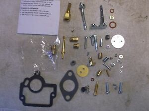 Farmall H Hv W4 Comprehensive Carb Kit With Ih Carburetor 45108db 50981da