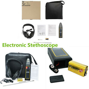 Car Truck Leak Detector Electronic Stethoscope Earphone Detection Equipment Kit